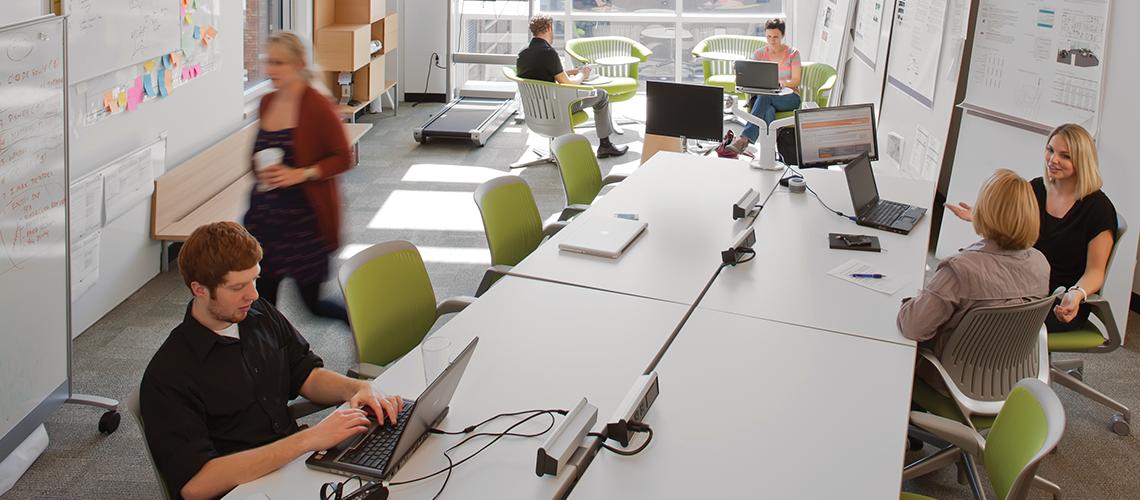 オフィス変革によるビジネスイノベーション